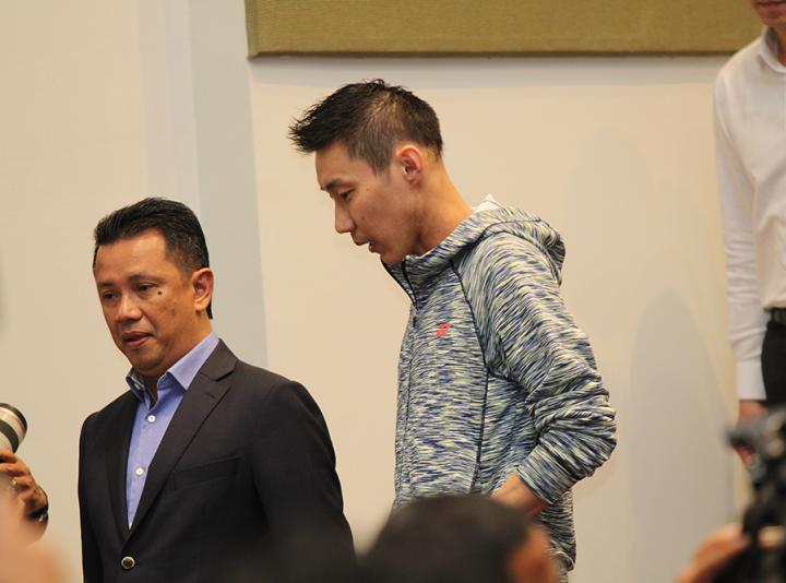 Dato' Lee Chong Wei's Special Press Conference
